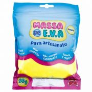 Massinha de E.V.A Make+ Amarela 50G 13000 26771