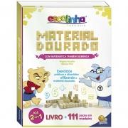 Material Dorado 111 Pcs Livro Matematica Tambem Se Brinca Todo Livro  1149520 28096
