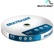 Midia Multilaser Cd-R 52X Shrink Com 10 Uni. Cd027 24514