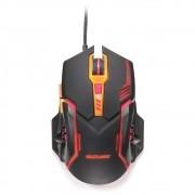 Mouse Gamer Multilaser 2400Dpi Preto / Laranja MO270 29871