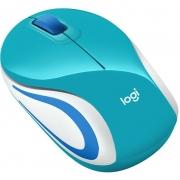 Mini Mouse Sem Fio M187 Azul Acqua Logitech 26965