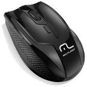 Mouse Multilaser Sem Fio 2.4 Ghz Rapid 6 Botoes 1600 Dpi MO165 19017