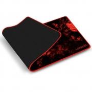 Mouse Pad Para Teclado e Mouse Vermelho Warrior Gamer AC301 Multilaser 30677