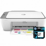 Multifuncional Deskjet 2776 HP + Cartucho de Tinta HP 667 Preto