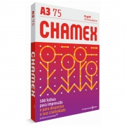 Papel A3 Chamex 75g Com 500 Fls 15636