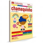 Papel A4 Chamequinho Colorido (Cores Sortidas) 75Grs 210X297mm 100 Fls 29883