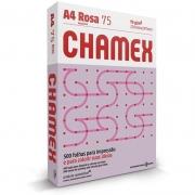 Papel A4 Chamex Rosa 75g Com 500 Fls 15650