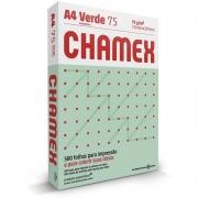 Papel A4 Chamex Verde 75g Com 500 Fls 15651