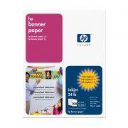 Papel Banner Paper A-Size Carta 100 Fls C1820A HP 07644