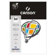 Papel Canson Color Branco 120G/M2 A4 210X297mm 15 Fls 66661212 27883
