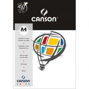 Papel Canson Color Branco 180G/M2 A4 210X297mm 10 Fls 66661186 27868