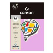 Papel Canson Color Lilas 180G/M2 A4 210X297mm 10 Fls 66661197 27875