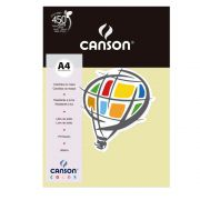 Papel Canson Color Marfim 180G/M2 A4 210X297mm 10 Fls 66661206 27881