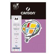 Papel Canson Color Violeta 180G/M2 A4 210X297mm 10 Fls 66661198 27876