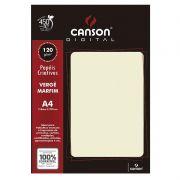 Papel Canson Verge Marfim 120G/M2 A4 30 Fls 66668758 27895