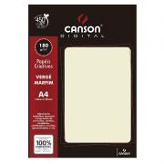 Papel Canson Verge Marfim 180G/M2 A4 20 Fls 66668768 27897