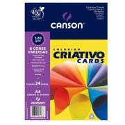 Papel Criative 8 Cores Estudantecanson A4 5 Cores 120G 24Fls 66667163 27893