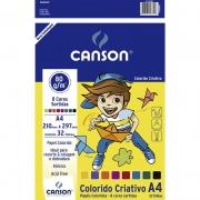 Papel Criative Colorido A4 32 Fls 80G 66667088 Canson 05444