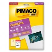 Papel Transfer para Camisas 279,4X215,9 com 5 Fls 7075 Pimaco 11754