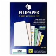Papel Verge Branco A4 120G 30 Fls 01869 Filipaper 07571