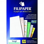 Papel Verge Branco A4 180G 50 Fls 00977 Filipaper 02230