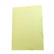 Pasta Aba / Elástico Dello Oficio PP Serena Amarela Pastel 0246.Ap.0050 26291