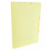 Pasta Aba / Elástico Dello Oficio PP Serena Amarelo Pastel 0247.Ap.0050 26295