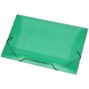 Pasta Aba Elástico Ofício (348X233) PP Line Verde 1021 ACP  02054