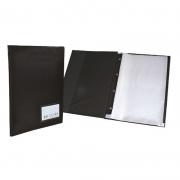 Pasta Catálogo 245X335 com 10 Pls. Plasticas com Visor 123 ACP 02074