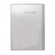 Pasta Catálogo Cristal Clear Book com 20 Fls Tp Oficio. Bd20S Yes 11718