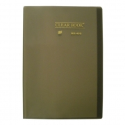 Pasta Catálogo Fumê Clear Book com 40 Fls 24X34Cm. Bd40S Yes 12454