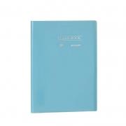 Pasta Catalogo Yes Clear Book Grid Com 20 Fls Azul TP A4 Bd20Ans 26960