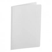 Pasta Dobrada Cartão Triplex Branco Plastificada com Grampo Plastico 0290E Dello 07983