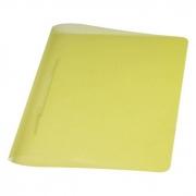 Pasta Dobrada Plast Amarelo Em PP com Grampo Plastico 0291A Dello 07988