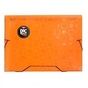 Pasta Sanfonada DAC Color Bubble Neon Laranja A4 12 Div 912PP-Lr 28465