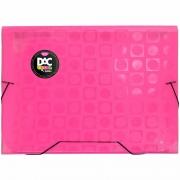 Pasta Sanfonada DAC Color Bubble Neon Rosa A4 12 Div 912PP-Rs 28525