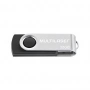 Pen Drive 32Gb Twist 2 Preto Pd589 Multilaser 23771