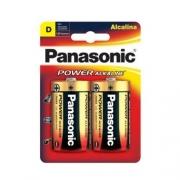 Pilha Panasonic Alcalina D Grande 2 Un. 10417
