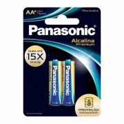 Pilha Panasonic Evolta Alcalina Premium Pequena AA 2 Un. LR6EGR/2B96 25008
