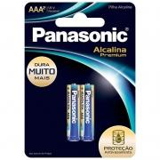 Pilha Panasonic Alcalina Premium Evolta Palito AAA 2 Un. LR03EGR/2B96 25005