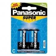 Pilha Panasonic Comum C Media 2 Un. 10428