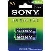 Pilha Sony Alcalina Pequena AA 2 Un. AM3LR06 24283