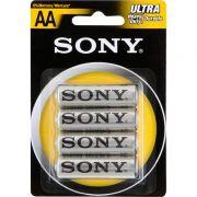 Pilha Zinco Carbono AA Sony SUM3-NUB4A 24275