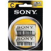 Pilha Zinco Carbono C Ultra Heavy Duty Sum2-Nub2A Sony 24277
