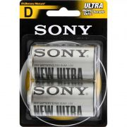 Pilha Sony Zinco Carbono D Ultra Heavy Duty 2 Un. SUM1-NUB2A 24276