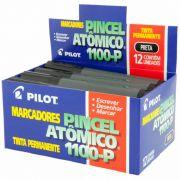 Pincel Atômico Preto 1100-P Caixa Com 12 Un. Pilot 05978