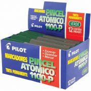 Pincel Atômico Verde 1100-P Caixa Com 12 Un. Pilot 05981