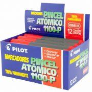 Pincel Atômico Vermelho 1100-P Caixa Com 12 Un. Pilot 05980
