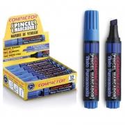 Pincel Marcador Permanente Compactor Recar Azul 12 Un 882001 26585