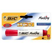 Pincel para Quadro Branco Bic Recarregável Vermelho 904206 20042